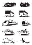 Transporte del pasajero en perspectiva ilustración del vector
