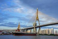 Transporte do barco Fotografia de Stock Royalty Free