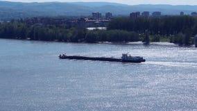 Transporte do barco de rio; filme