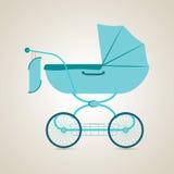 Transporte do bebê pram Imagens de Stock Royalty Free