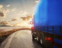 Transporte do caminhão rendição 3d Foto de Stock