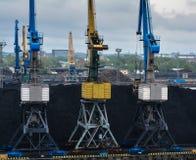 Transporte do carvão fotos de stock royalty free