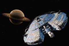Transporte do espaço Imagem de Stock