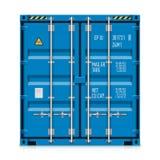 Transporte do frete, recipiente de carga ilustração stock