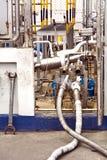 Transporte do gás Fotografia de Stock Royalty Free