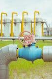Transporte do gás Foto de Stock Royalty Free