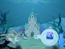 Transporte do golfinho ilustração do vetor