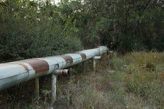 Transporte do líquido ou do gás no encanamento imagens de stock