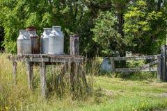 Transporte do leite do vintage Foto de Stock Royalty Free