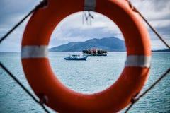 Transporte do navio de passageiro Fotografia de Stock Royalty Free