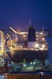 Transporte do petróleo Fotografia de Stock