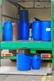 Transporte do tambor fotografia de stock