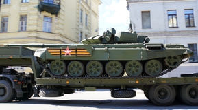 Transporte do tanque Imagens de Stock Royalty Free