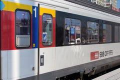 Transporte do trem da primeira classe Imagens de Stock Royalty Free