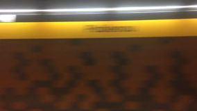 Transporte do tubo do metro filme