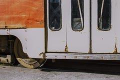Transporte do vintage no calor do verão foto de stock