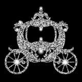 Transporte do vintage no fundo branco Imagem de Stock Royalty Free