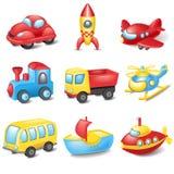 Transporte dos desenhos animados Foto de Stock