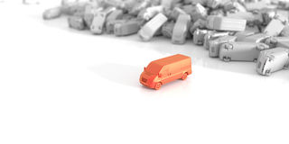 transporte e transporte Imagem de Stock Royalty Free
