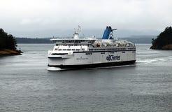 Transporte en bac AVANT JÉSUS CHRIST Victoria-Vancouver photographie stock