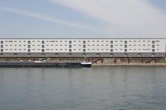 Transporte en el río el Rin Imagenes de archivo