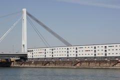 Transporte en el río el Rin Fotografía de archivo