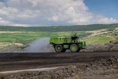 Transporte en explotación del cabón Fotografía de archivo
