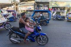 Transporte en Filipinas Fotografía de archivo libre de regalías