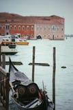 Transporte en Venecia Foto de archivo libre de regalías
