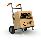 Transporte global Fotografia de Stock