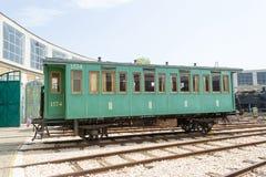 Transporte histórico da estrada de ferro de 4 rodas Imagem de Stock Royalty Free