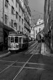 Transporte icônico em uma cidade icónica imagens de stock