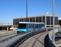 Transporte ligero del carril o de la tranvía Imagen de archivo libre de regalías