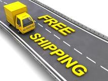 Transporte livre Fotografia de Stock Royalty Free