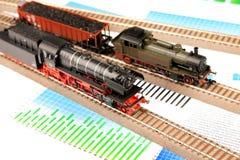 Transporte locomotivo ecológico de Intrenational imagens de stock royalty free