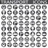 Transporte los iconos Fotos de archivo libres de regalías