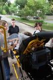 Transporte médico de la emergencia Fotos de archivo