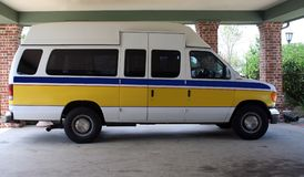 Transporte médico Van Imagens de Stock Royalty Free