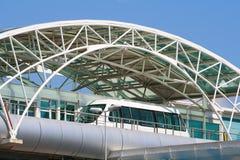 Transporte moderno do transporte público Fotografia de Stock