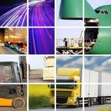 Transporte o conceito Fotografia de Stock Royalty Free