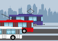 Transporte público libre illustration