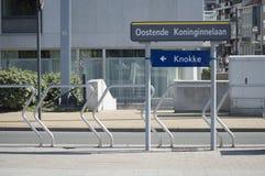 Transporte público de Ostende Foto de Stock Royalty Free