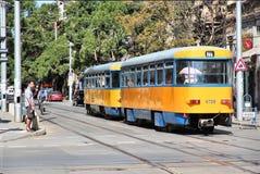 Transporte público de Sofía fotos de archivo libres de regalías