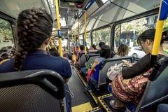 Transporte público de Sydney - ônibus Fotografia de Stock
