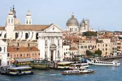 Transporte público de Venecia Foto de archivo libre de regalías