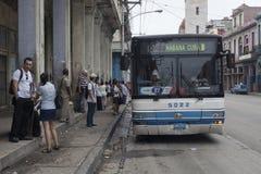 Transporte público em Havana Imagens de Stock Royalty Free