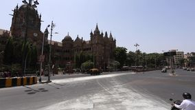 Transporte público em Mumbai video estoque
