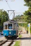 Transporte público em Trieste Imagem de Stock Royalty Free