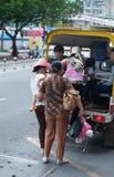 Transporte público en Saigon Imagenes de archivo