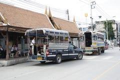 Transporte público en Tailandia Foto de archivo libre de regalías